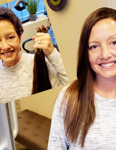 Chemo Girls Hair Extensions